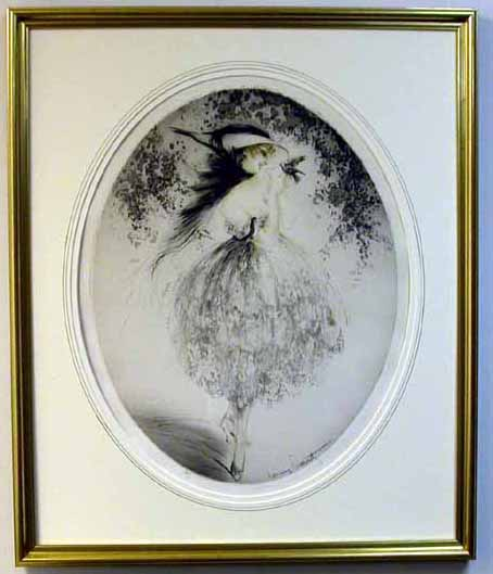 Salvador Dali - Custom Picture Framing - Plainfield, Illinois - Frame Example 1