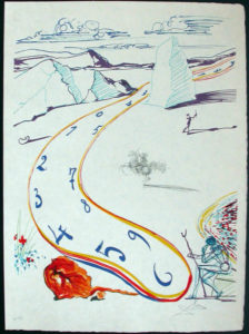 Salvador Dali - Dalinean Prophecy - Anti-Umbrella with Atomized Liquid