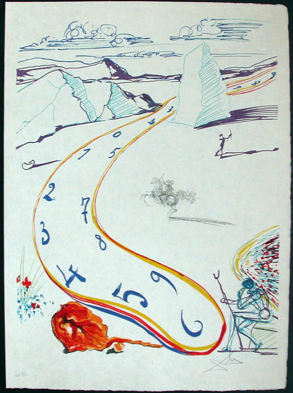 Salvador Dali - Imagination and Objects of the Future - Anti-Umbrella with Atomized Liquid