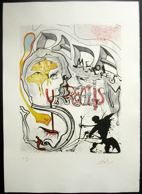 Salvador Dali - Memories of Surrealism - Angel of Dada Surrealism