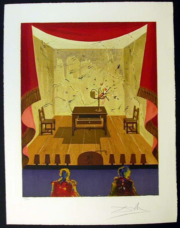 Salvador Dali - Marquis de Sade - A Miserable Flat