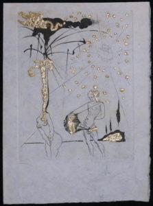 Salvador Dali - Les Amours Jaunes, The Golden Loves - Le poete contumace