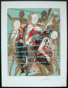 Salvador Dali - Individual Aliyah Lithographs for Sale - Out of the depths