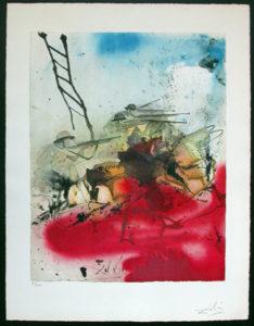 Salvador Dali - Individual Aliyah Lithographs for Sale - Battle for Jerusalem Hills