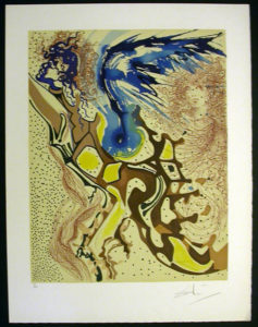Salvador Dali - Individual Aliyah Lithographs for Sale - Angels of the Rebirth