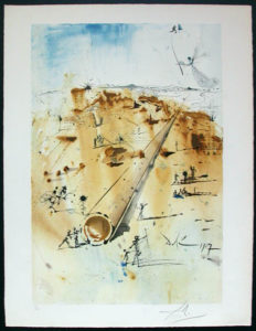 Salvador Dali - Individual Aliyah Lithographs for Sale - The Land From the Start
