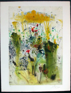 Salvador Dali - Individual Aliyah Lithographs for Sale - The Land Come to Life