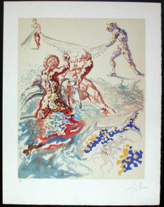Salvador Dali - Individual Aliyah Lithographs for Sale - Let Them Have Domination