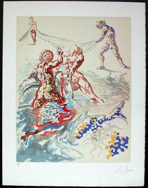 Salvador Dali - Aliyah - Let them have domination...""