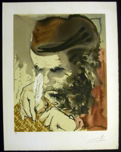 Salvador Dali - Individual Aliyah Lithographs for Sale - For that is thy life