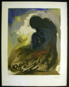 Salvador Dali - Individual Aliyah Lithographs for Sale - A Voice is Heard in Ramah