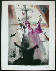 Salvador Dali - Individual Aliyah Lithographs for Sale - I have set before thee