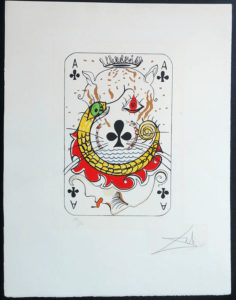 Salvador Dali - Playing Cards - Playing Cards Clubs