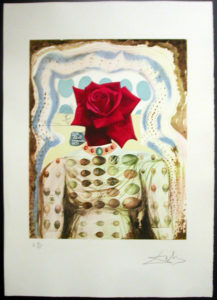 Salvador Dali - Memories of Surrealism - Surrealist Flower Girl