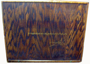 Salvador Dali - Dalinean Prophecy - Wooden Box