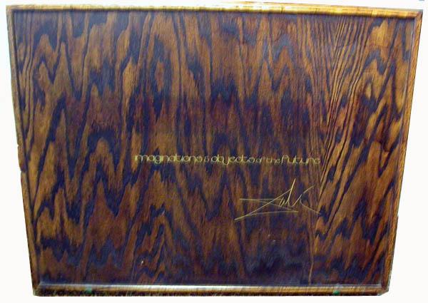 Salvador Dali - Dalinean Prophecy - Wooden Box