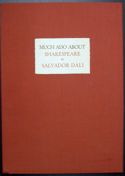 Salvador Dali - Shakespeare II - Cover Page