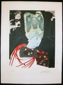 Salvador Dali - Memories of Surrealism Individual Photoliths - Crazy, Crazy, Crazy Minerv