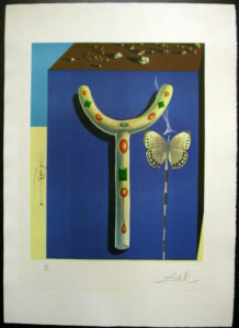Salvador Dali - Memories of Surrealism Individual Photoliths - Surrealist Crutches