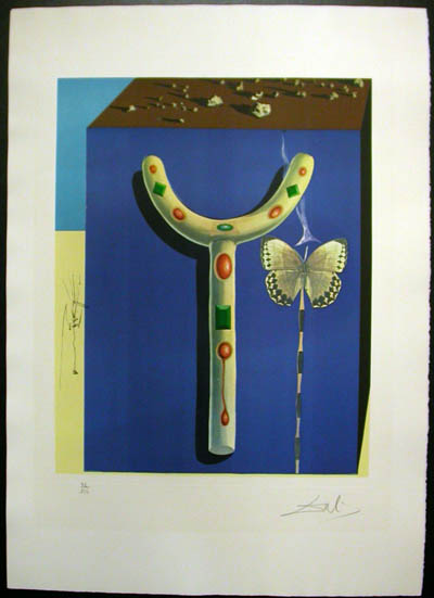 Salvador Dali - Memories of Surrealism Individual Photoliths - Surrealist Crutches