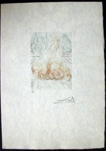 Salvador Dali - Shakespeare II - Cymbeline