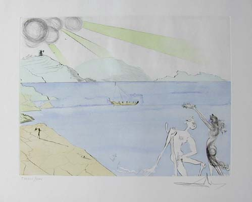Salvador Dali - After 50 Years of Surrealism - The Laurels of Happiness