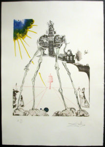 Salvador Dali - Memories of Surrealism - Space Elephant