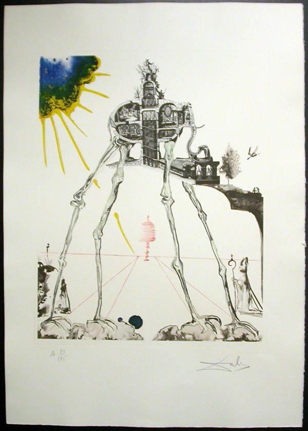 Salvador Dali - Memories of Surrealism - Space Elephant