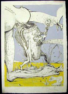 Salvador Dali - Les Songs (Songes) Drolatiques de Pantagruel - E
