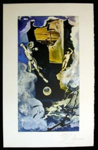 Salvador Dali - Lyle Stuart Tarot Cards - The Tower