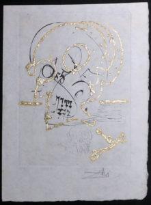 Salvador Dali - Les Amours Jaunes, The Golden Loves - Decline