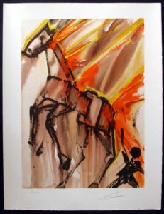 Salvador Dali - Dalinean Horses - Clavilegnio