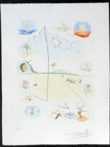 Salvador Dali - Twelve Tribes of Israel - Frontispiece