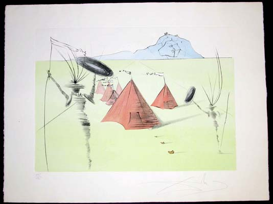 Salvador Dali - Twelve Tribes of Israel - Gad