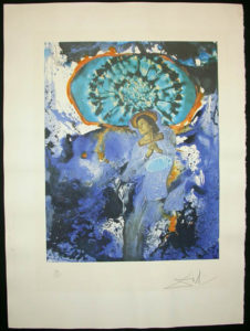 Salvador Dali - Memories of Surrealism Individual Photoliths - Ultra Surrealist Corpuscular Galutska