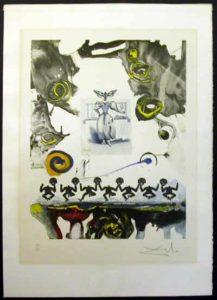 Salvador Dali - Memories of Surrealism Individual Photoliths - Surrealist Gastronomy