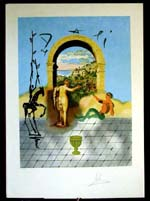 Salvador Dali - Dali Discovers America - Gateway to the New World