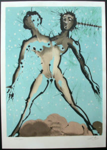 Salvador Dali - Twelve Signs of the Zodiac - Gemini