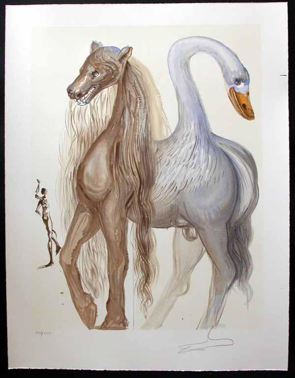 Salvador Dali - Dalinean Horses - Le chimere d'Horace