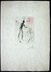 Salvador Dali - Shakespeare II - Henry V a