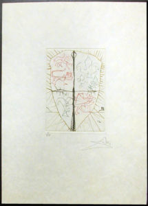 Salvador Dali - Shakespeare II - Henry V b