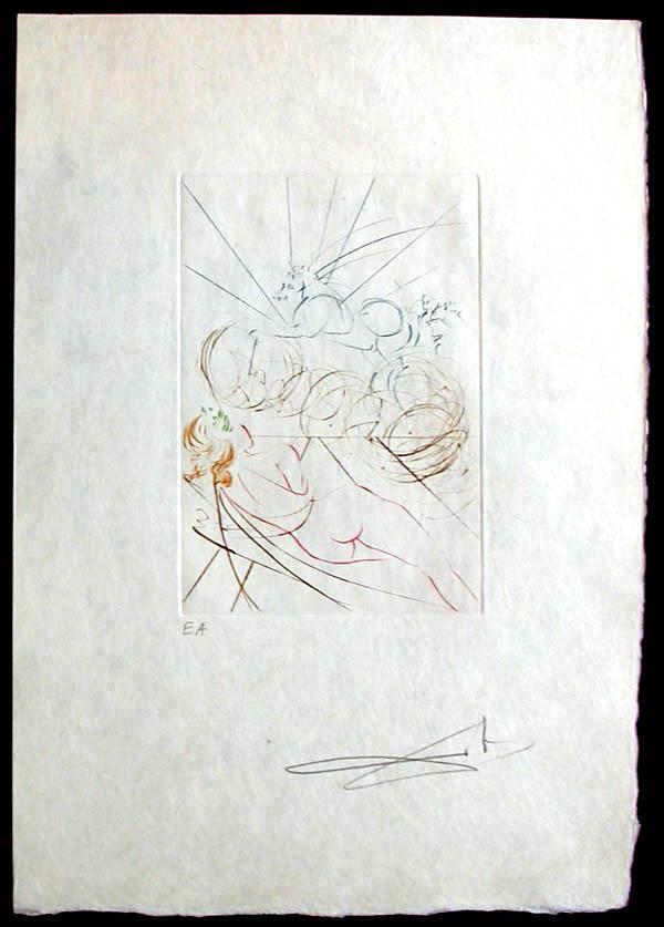 Salvador Dali - Femmes et Chevaux - Hippofemme