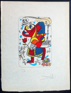 Salvador Dali - Playing Cards - Playing Cards Joker - Joker