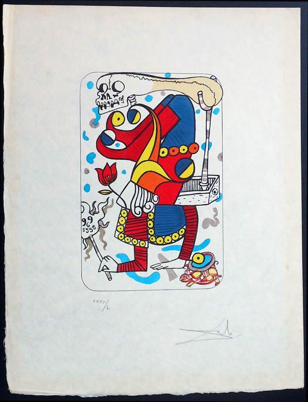 Salvador Dali - Playing Cards - Playing Cards Joker - Joker