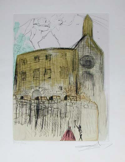 Salvador Dali - After 50 Years of Surrealism - Gala's Castle