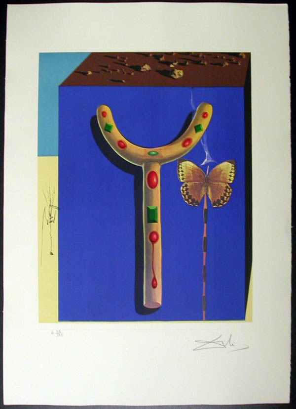 Salvador Dali - Memories of Surrealism - Surrealist Crutches