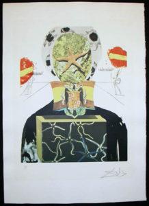 Salvador Dali - Memories of Surrealism Individual Photoliths - Surrealist King