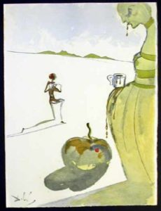Salvador Dali - Dali Illustre Casanova - Cup of Chocolate