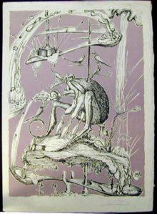 Salvador Dali - Les Songs (Songes) Drolatiques de Pantagruel - M