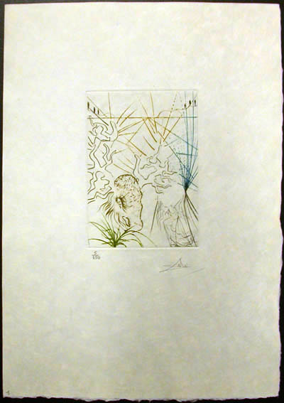 Salvador Dali - Shakespeare II - The Merry Wives of Windsor